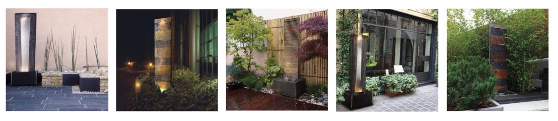 Fontaines d'intérieur ou d'extérieur - Murs D'eau