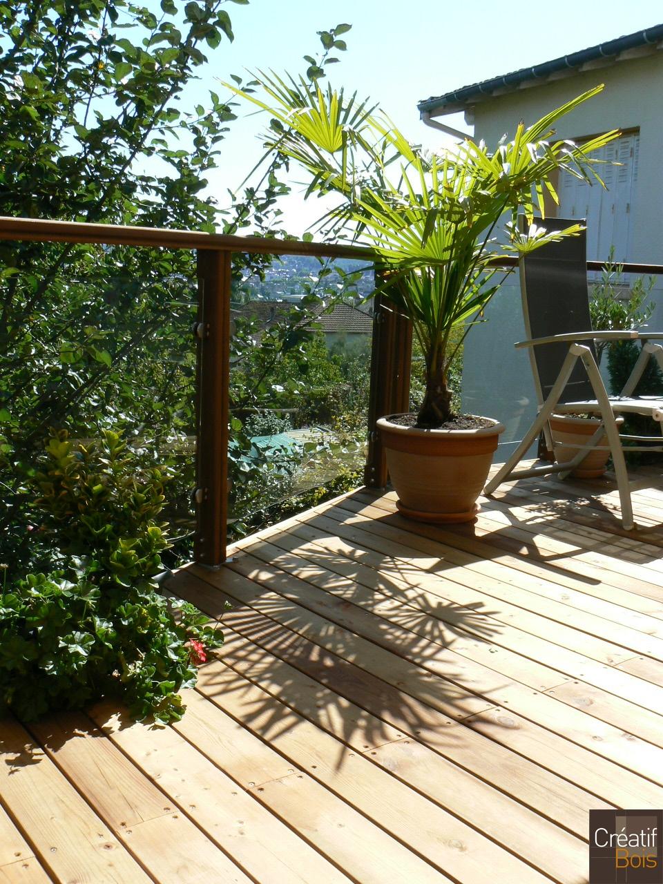 terrasse bois brive corr ze 19 garde corps galerie. Black Bedroom Furniture Sets. Home Design Ideas