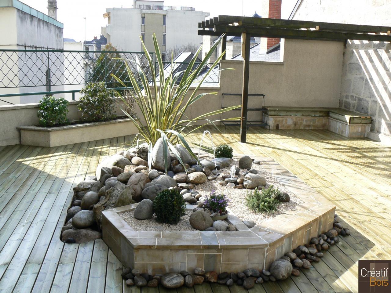 terrasse bois brive corr ze 19 r alisations terrasses. Black Bedroom Furniture Sets. Home Design Ideas