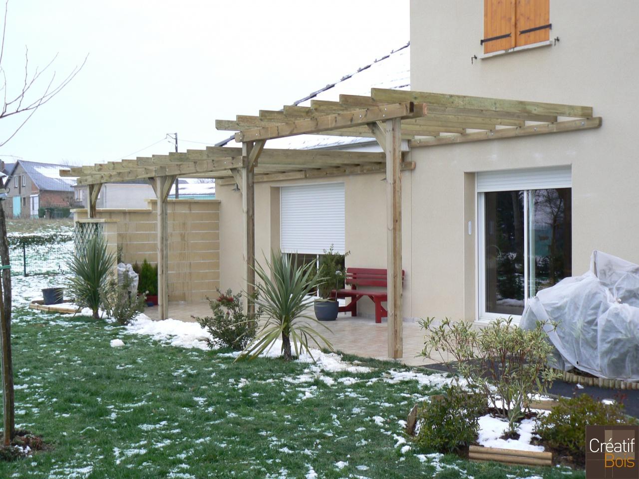 pergola bois et terrasse bois lubersac corr ze 19. Black Bedroom Furniture Sets. Home Design Ideas