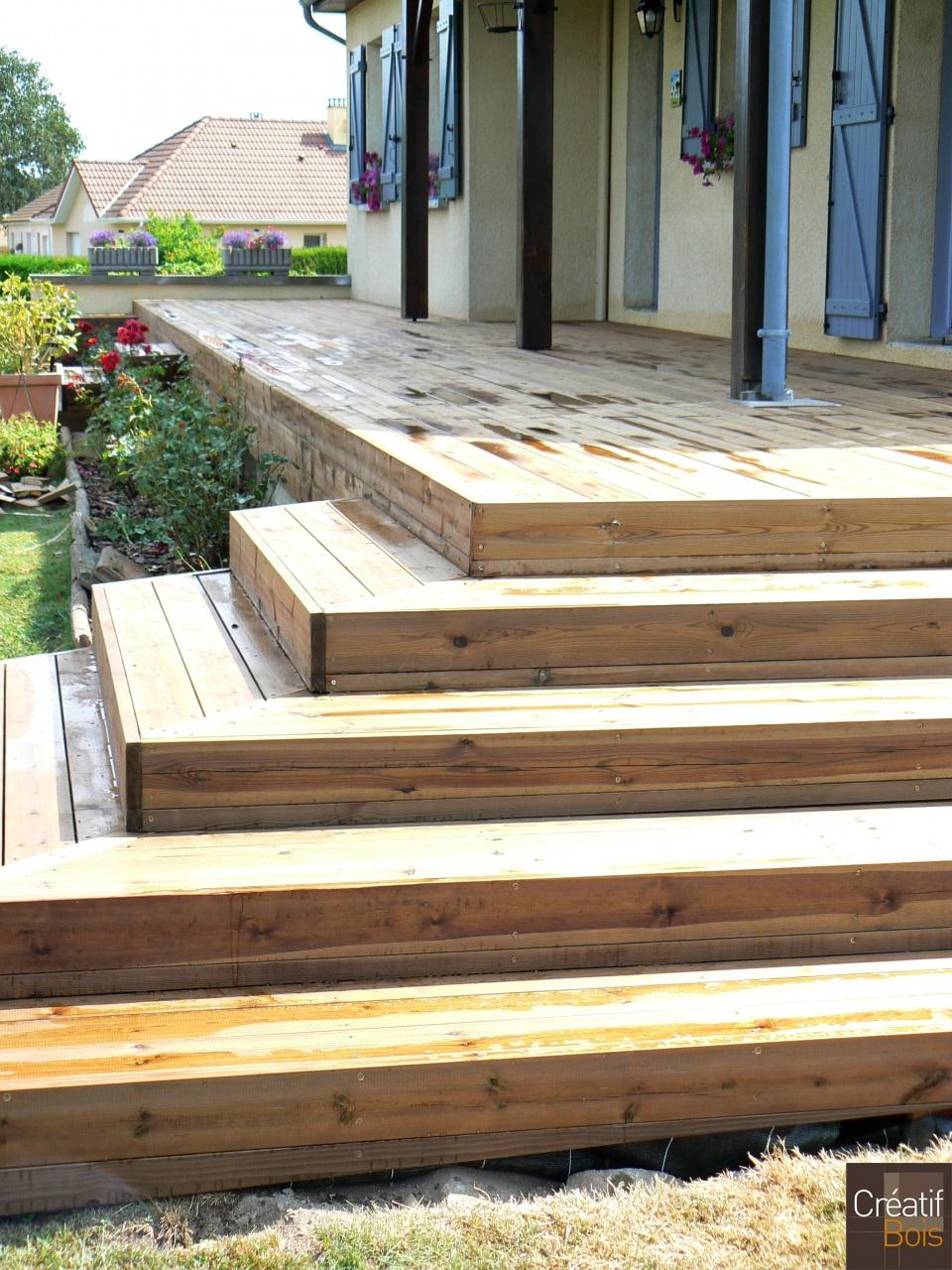 escalier en bois saint priest la plaine creuse 23 escaliers ext rieur galerie cr atif. Black Bedroom Furniture Sets. Home Design Ideas