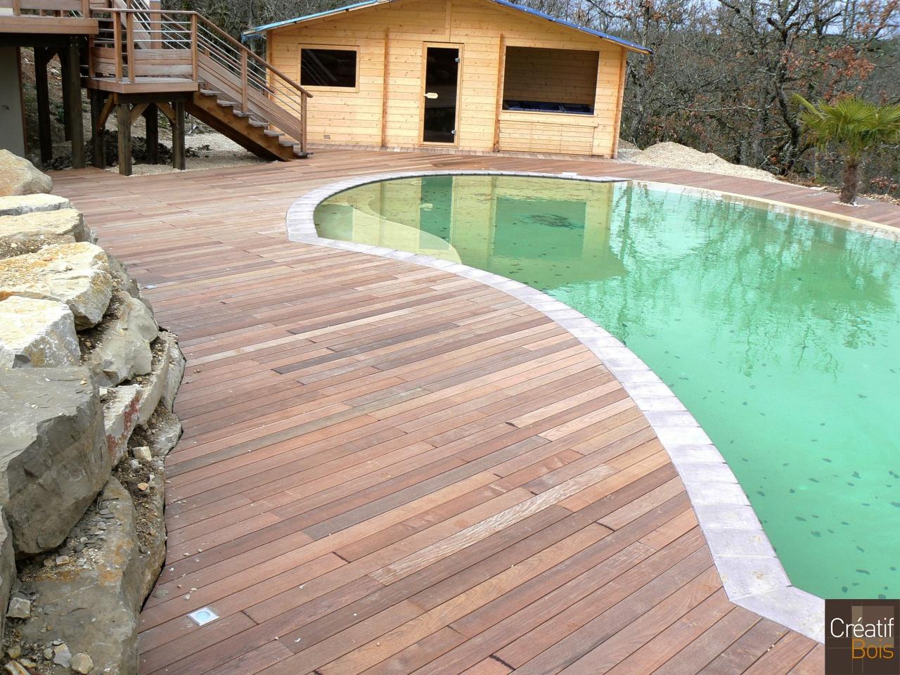 plage de piscine bois lot 46 labastide marnhac. Black Bedroom Furniture Sets. Home Design Ideas