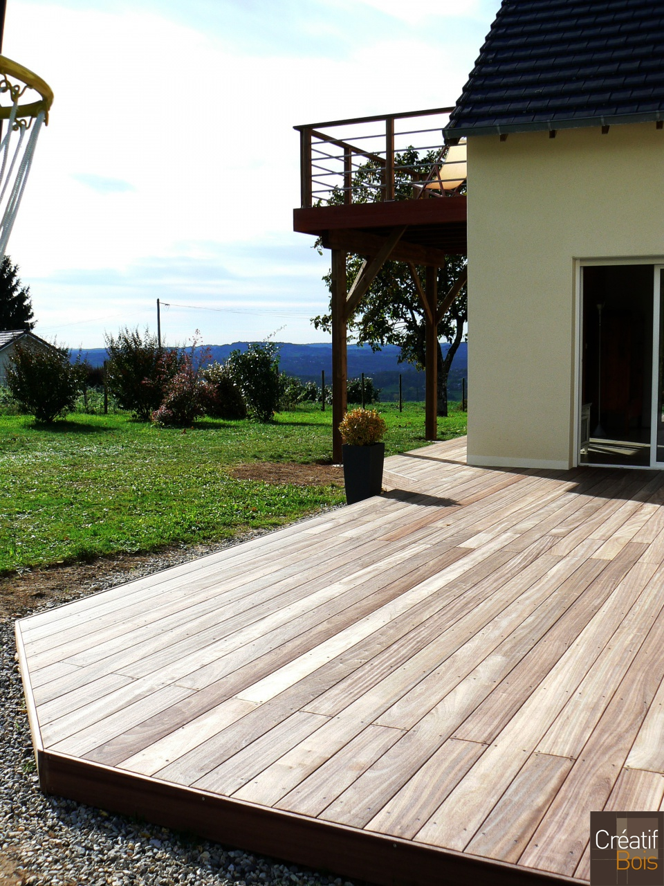 terrasse en padouk allassac corr ze 19 r alisations terrasses galerie cr atif bois. Black Bedroom Furniture Sets. Home Design Ideas