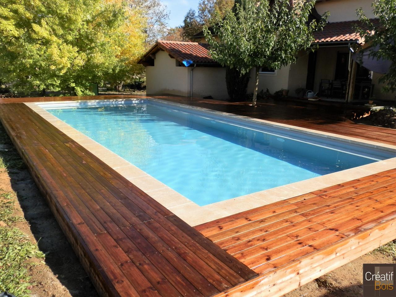 plage de piscine saint jean lespinasse lot 46 plages. Black Bedroom Furniture Sets. Home Design Ideas