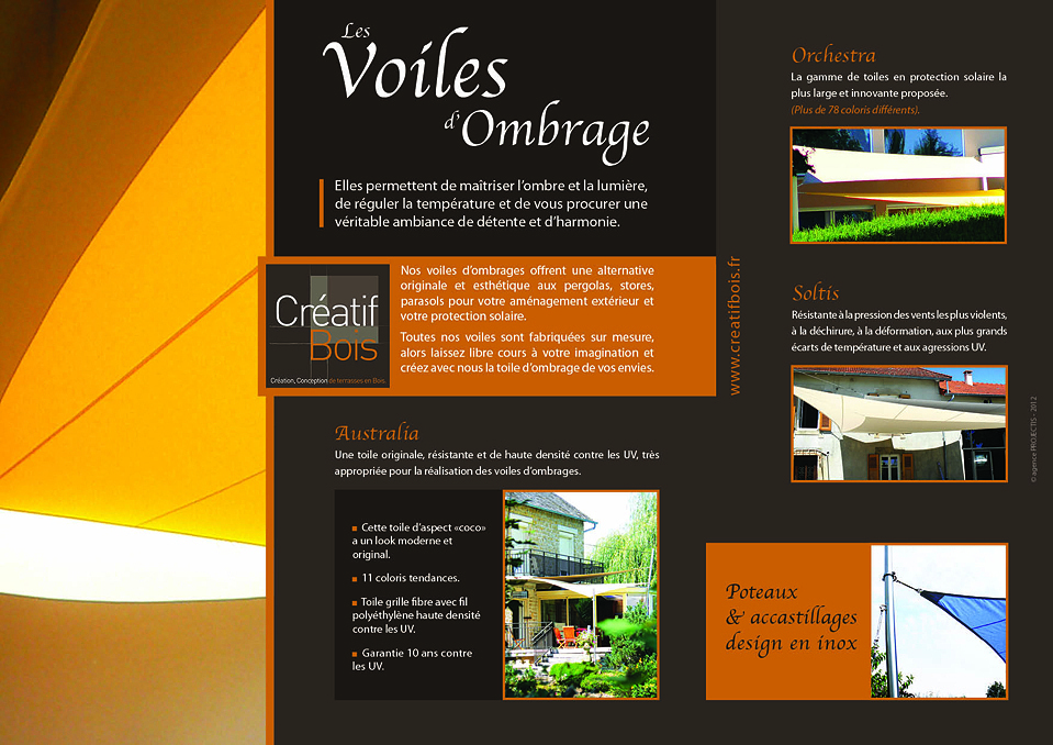 Voiles d'ombrages
