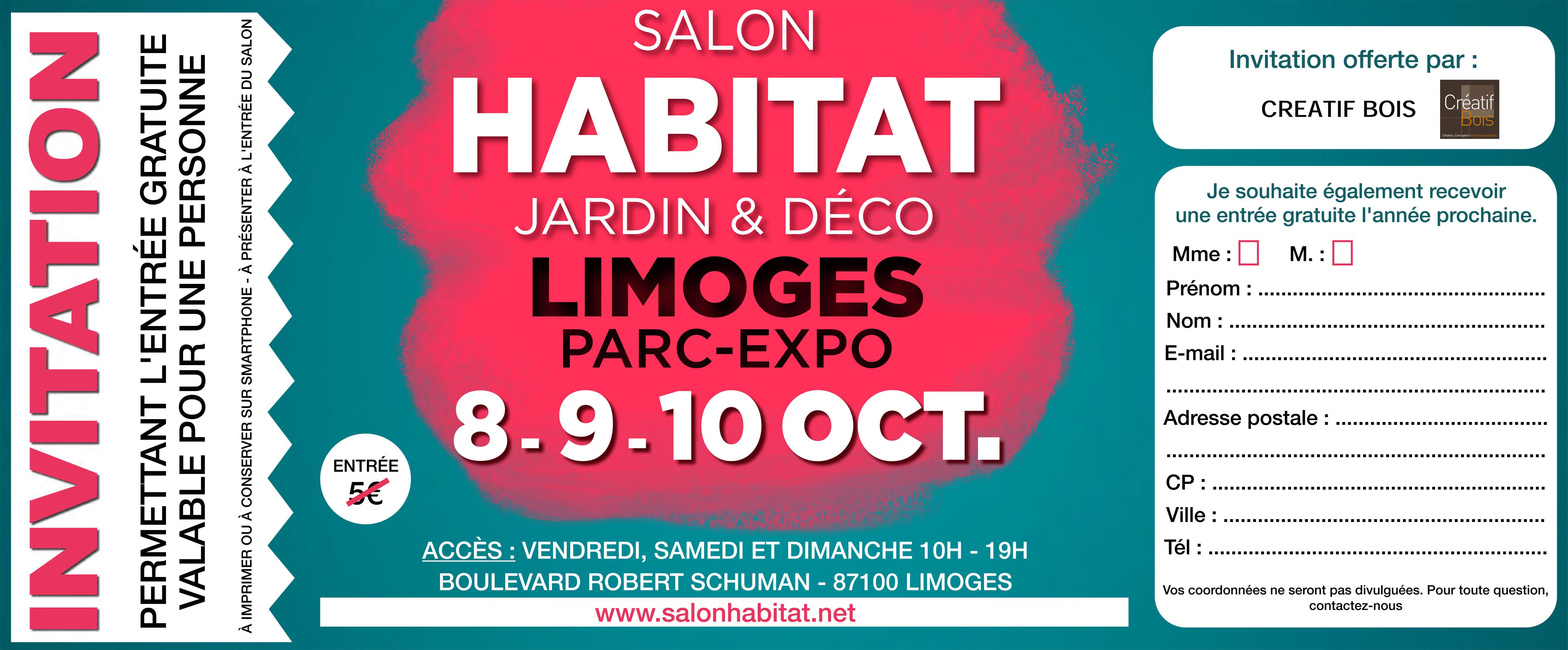 Tarif foire expo limoges 2013 for Amiens foire expo