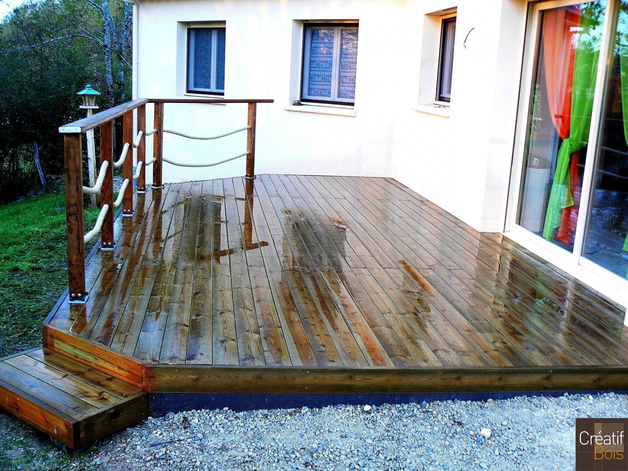 terrasse allassac corr ze 19 r alisations terrasses. Black Bedroom Furniture Sets. Home Design Ideas