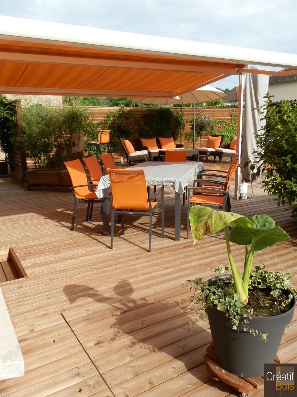 terrasse au sol objat corr ze 19 r alisations. Black Bedroom Furniture Sets. Home Design Ideas