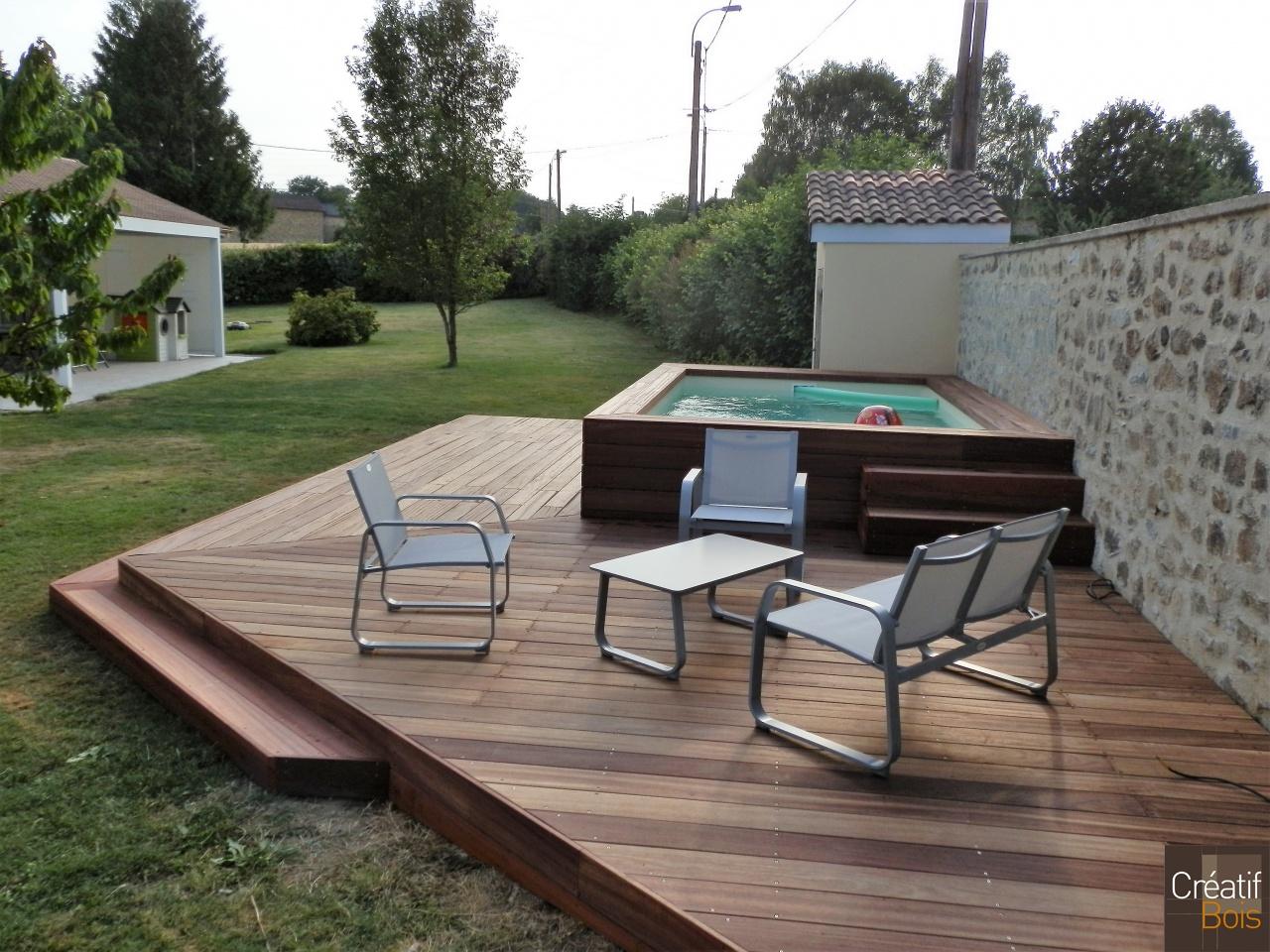 terrasse en padouk limoges haute vienne 87. Black Bedroom Furniture Sets. Home Design Ideas